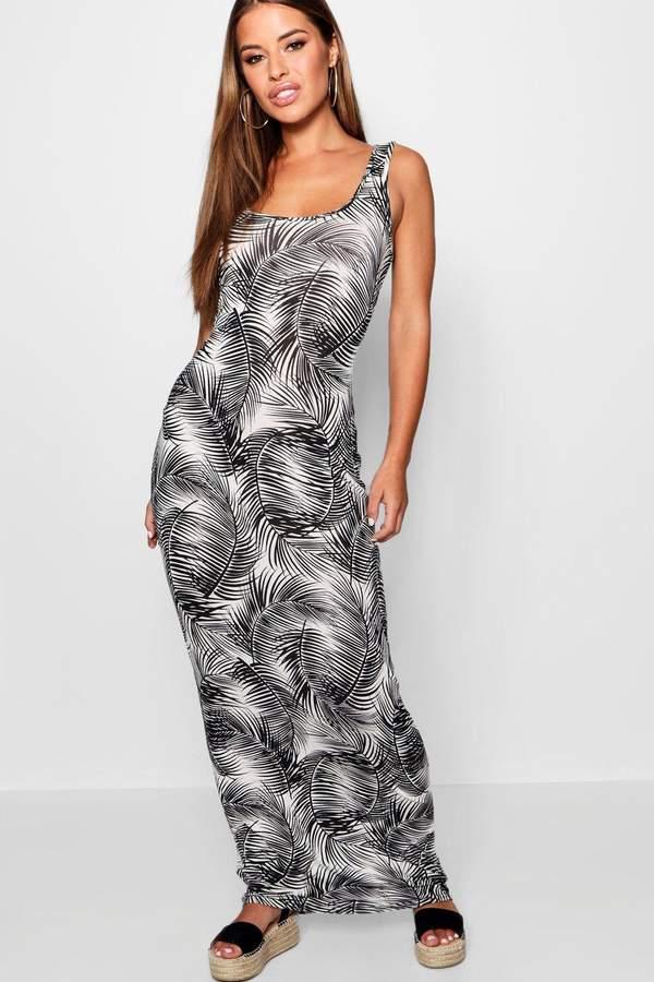 deeb7a68157a Palm Print Maxi Dress - ShopStyle