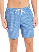 Onia Charles 7 Washed Seersucker Swim Trunks