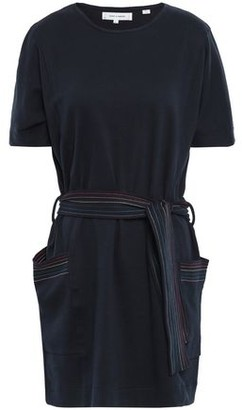 Parker Chinti & Belted Cotton-jersey Mini Dress