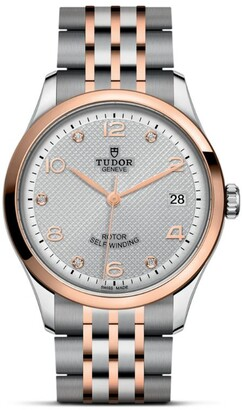 Tudor 1926 Stainless Steel, Rose Gold and Diamond Watch 36mm
