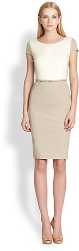 Max Mara Guelfi Colorblock Sheath Dress