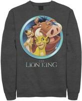 Disney Men's Disney's The Lion King Best Friends Fleece