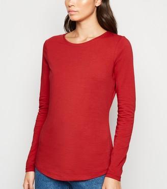 New Look Organic Cotton Long Sleeve T-Shirt
