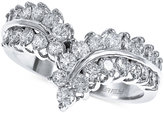 Effy Bouquet Diamond V Ring (1 ct. t.w.) in 14K White Gold