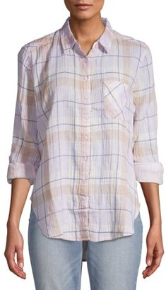 Time and Tru Women's Button Front Top