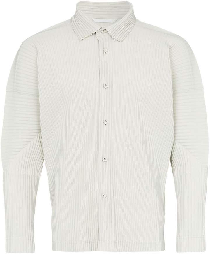 b5d07c5f Ribbed Button Shirt - ShopStyle