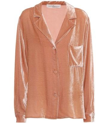 Golden Goose Franca velvet pyjama shirt