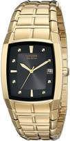 Citizen Men's BM6552-52E Eco-Drive Gold-Tone Dial Watch