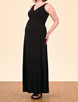 Apeainthepod Sleeveless Pleated Maternity Dress