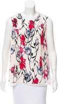 Thakoon Sleeveless Floral Top