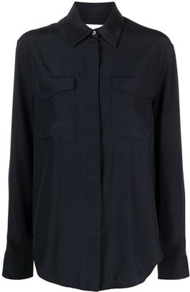 Jil Sander Long-Sleeved Silk Shirt