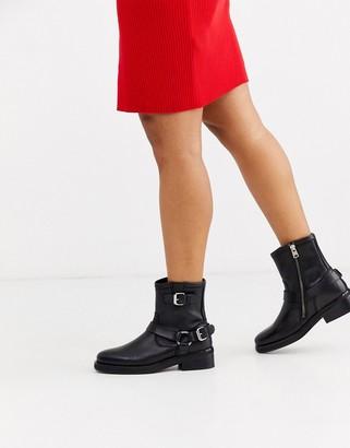 AllSaints Roni leather biker boot