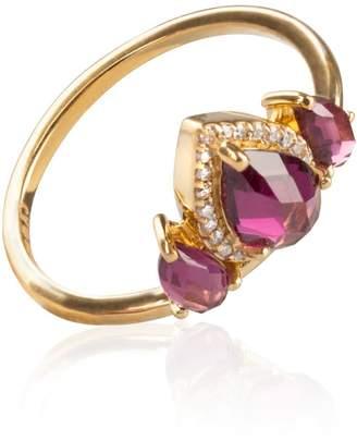 Sharon Mills London Diamond Tiara Ring