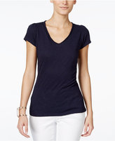 INC International Concepts V-Neck T-Shirt, Only at Macy's