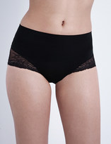 Spanx Undie-tectable floral-lace hipster briefs