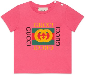 Gucci Baby T-shirt with logo