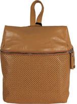Latico Leathers Women's Riley Backpack 5703 - Tan Leather Zipper