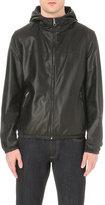 Salvatore Ferragamo Reversible Hooded Leather Jacket