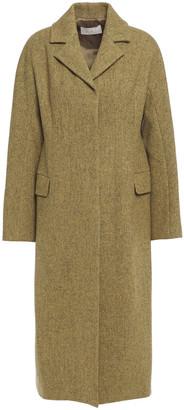 LVIR Brushed Wool-blend Coat