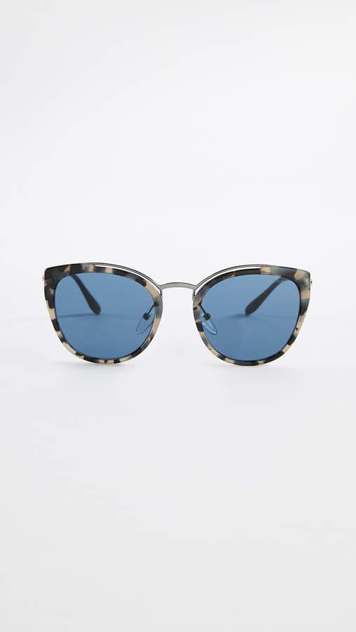 114e1ae522307 Prada Sunglasses Tortoise - ShopStyle