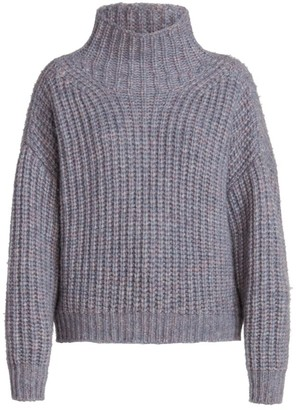 Isabel Marant Iris Chunky Turtleneck Alapca-Knit Sweater
