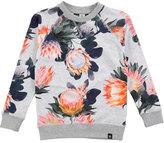 Molo Raewyn Floral-Print Sweatshirt, Sizes 3-12