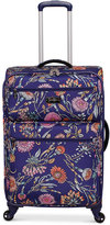 """Jessica Simpson Cascade 25"""" Expandable Spinner Suitcase"""