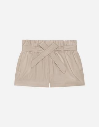 Dolce & Gabbana Drill Bermuda Shorts With Belt