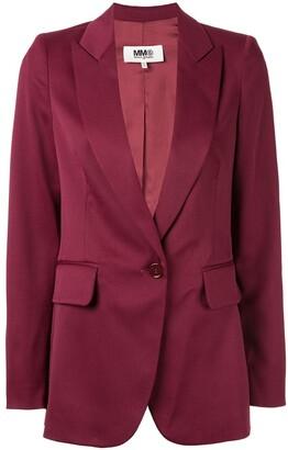 MM6 MAISON MARGIELA structured single breasted blazer