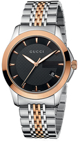 Gucci Timeless Collection YA126410 Men's Stainless Steel Analog Watch