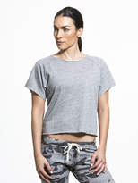 Monrow Cut Off Sweatshirt