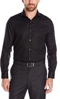 Perry Ellis Men's Slim Fit Non Iron Texture Dobby Shirt