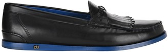 Dolce & Gabbana Braided Kiltie Loafers