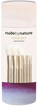 Nude By Nature Vivid Sky 6 Piece Brush