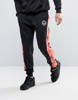 Hype Cuffed Joggers With Fire Panels