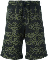 Marcelo Burlon County of Milan Alonso shorts - men - Cotton - XXS