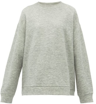 Raey Crew-neck Cashmere-blend Sweatshirt - Womens - Grey