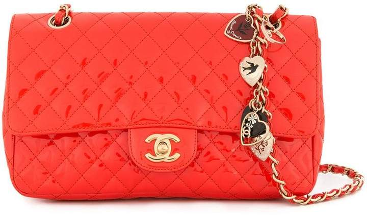 e78827095ec651 Chanel Red Shoulder Bags - ShopStyle