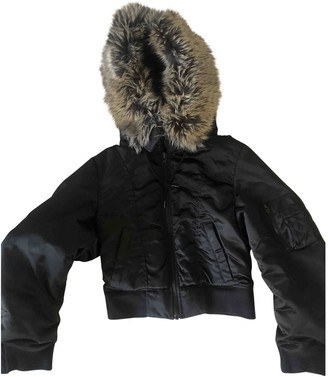 Yeezy X Adidas Black Coat for Women