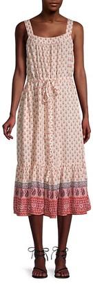BeachLunchLounge Stina Tie-Dye Flounce A-Line Dress