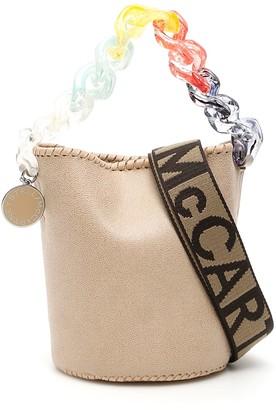 Stella McCartney Pastel Chain Bucket Bag