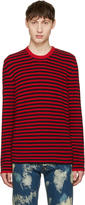 Gucci Red and Black Stripes Sweater