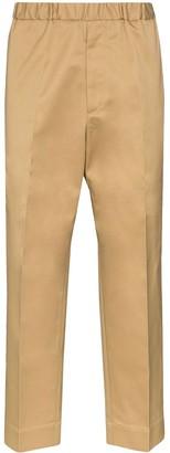 Jil Sander Elasticated-Waist Tailored Trousers