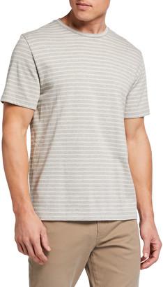 Vince Men's Striped Crewneck T-Shirt