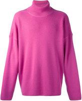 Ami Alexandre Mattiussi oversized turtleneck sweater - men - Wool - XS