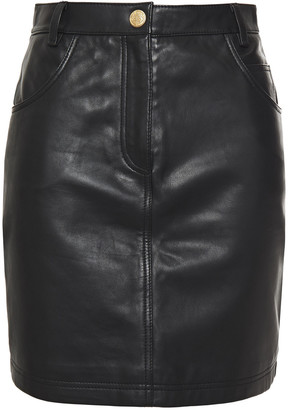 Claudie Pierlot Leather Mini Skirt