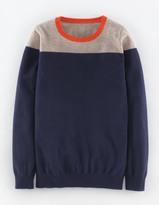 Boden Cashmere Crew Neck Sweater