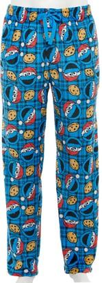 Licensed Character Men's Sesame Street Cookie Monster Sleep Pants