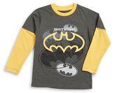 Nannette Boys 2-7 Batman Mock Layer Tee