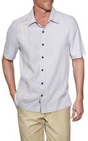 Nat Nast 'Union' Regular Fit Short Sleeve Silk Sport Shirt